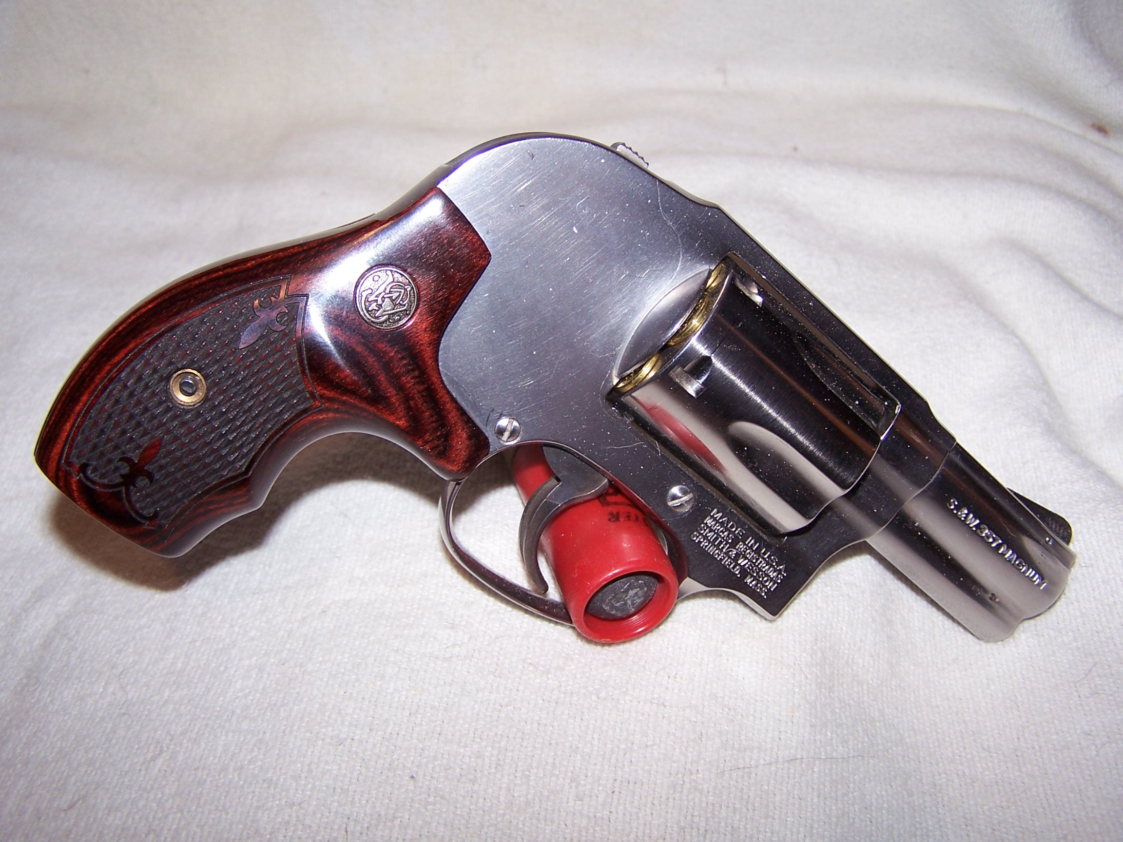 S&W Mdel 649-3 in 357 Magnum
