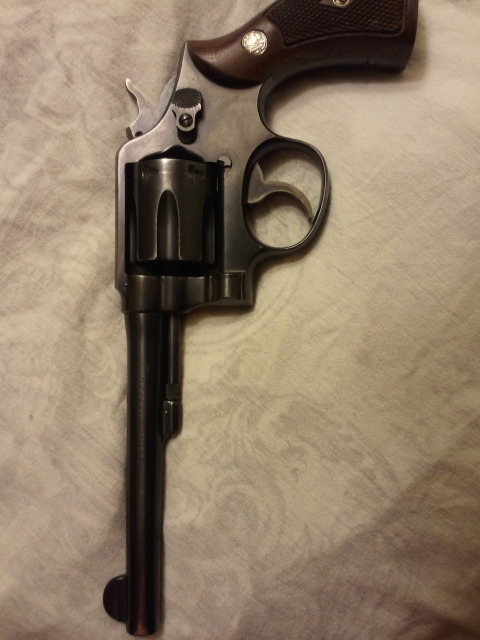 Date k smith and serial of frame wesson manufacture number Smith Wesson
