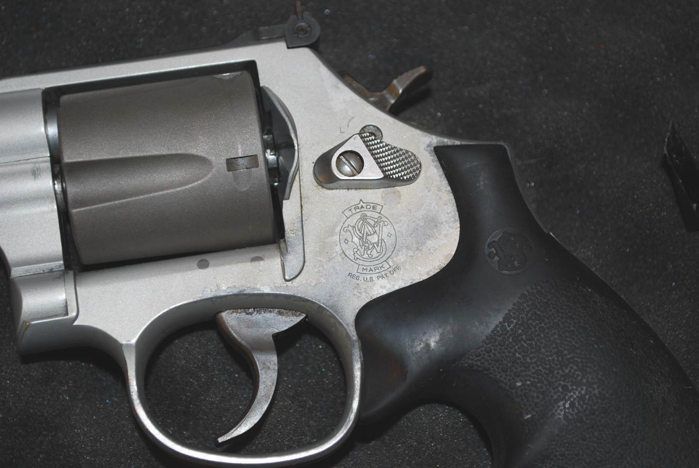 Scandium Frame Revolver - Touch Up? Glass Paint Pen?