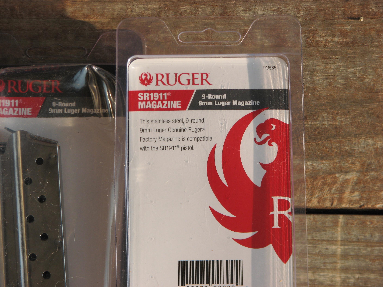 Ruger SR1911 9mm Magazines