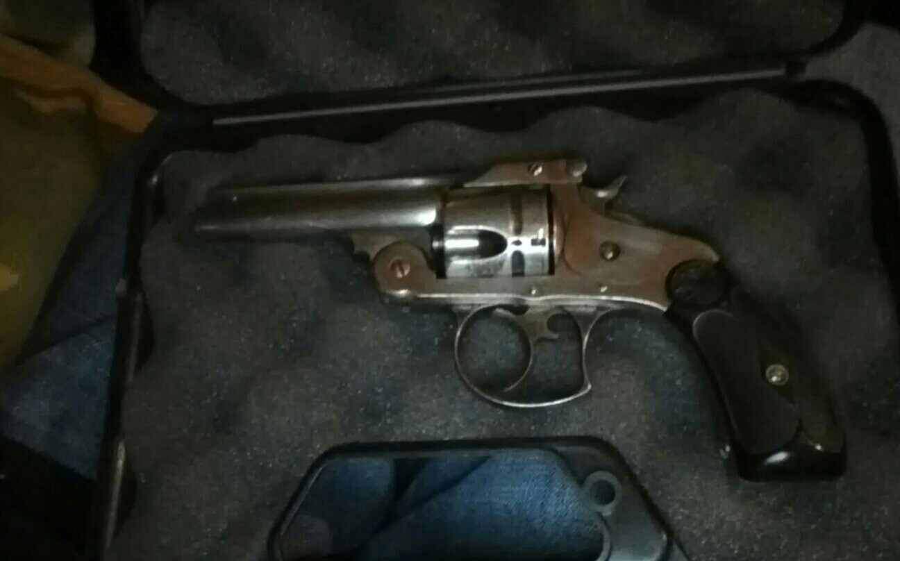 1880 S S W Revolver Need To Find Info On It And Serial Number