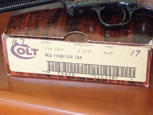 Colt New Frontier 45
