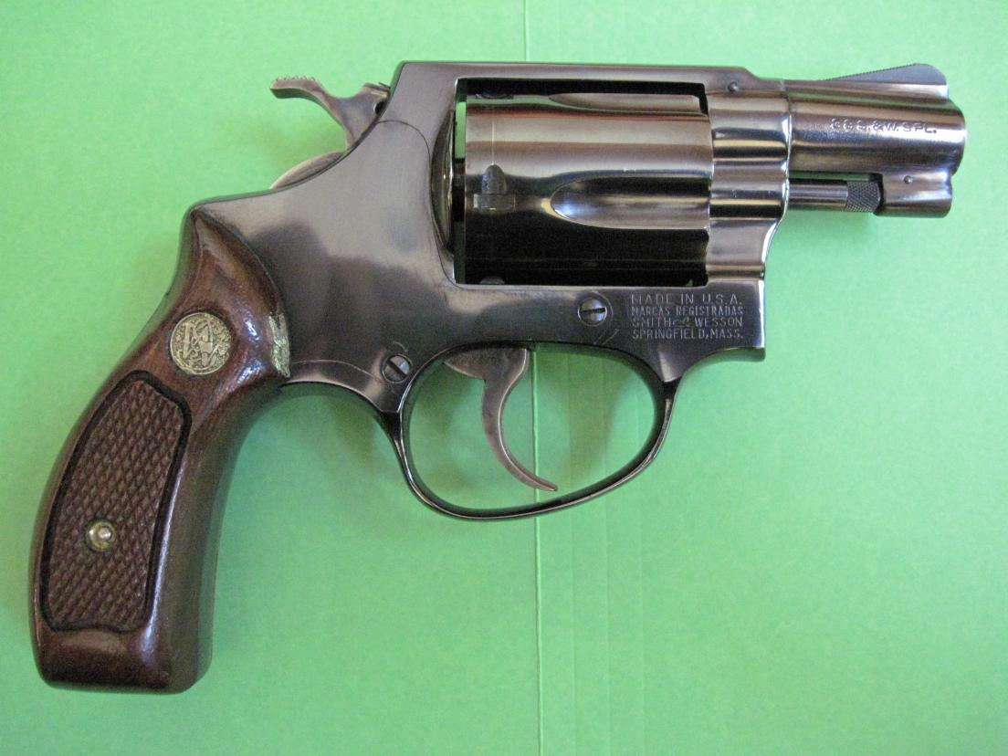 Smith and Wesson 38 Special Revolver