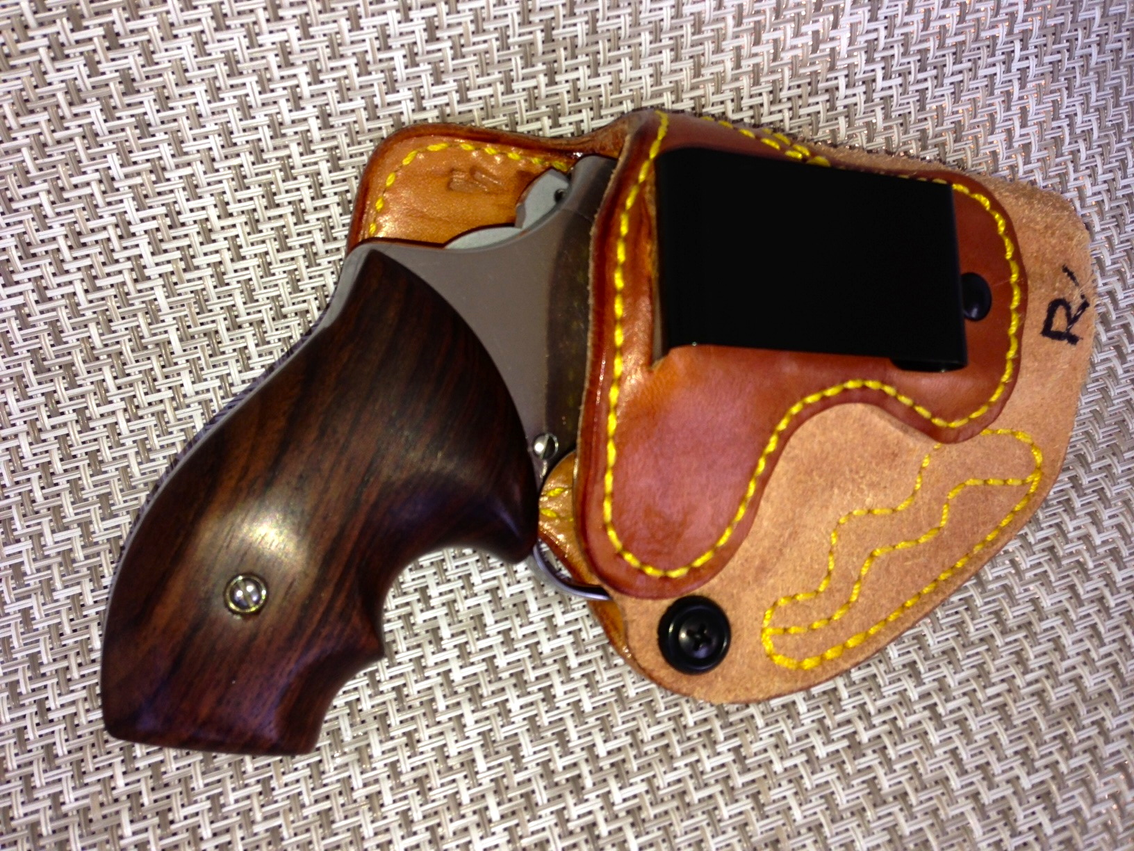 How Do You Holster Your S&W J Frame?
