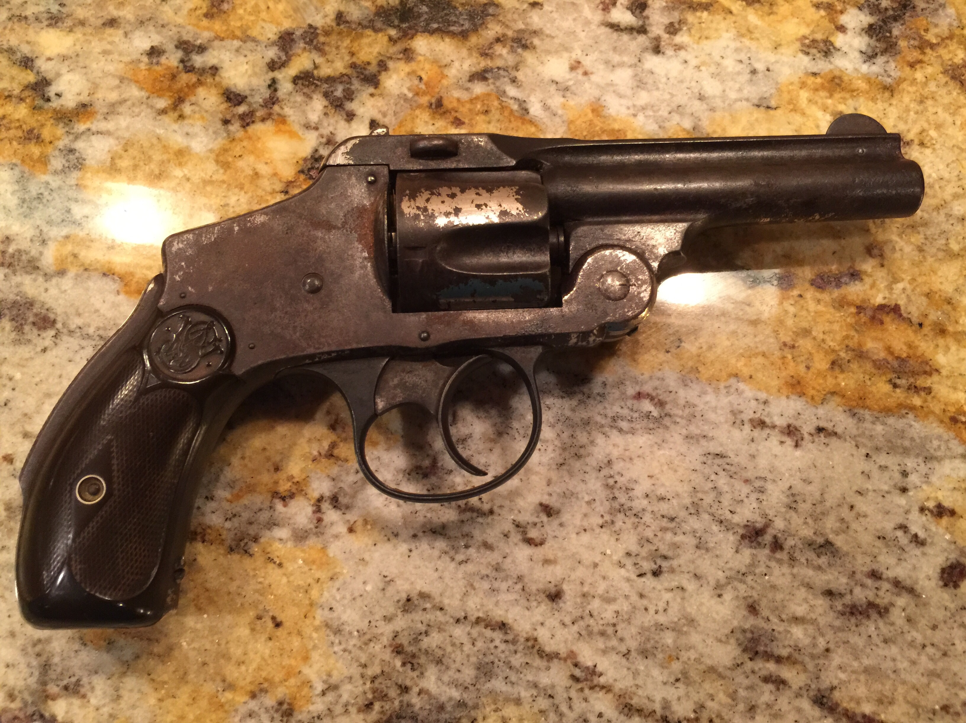 In Search Of Info On Antique Revolver