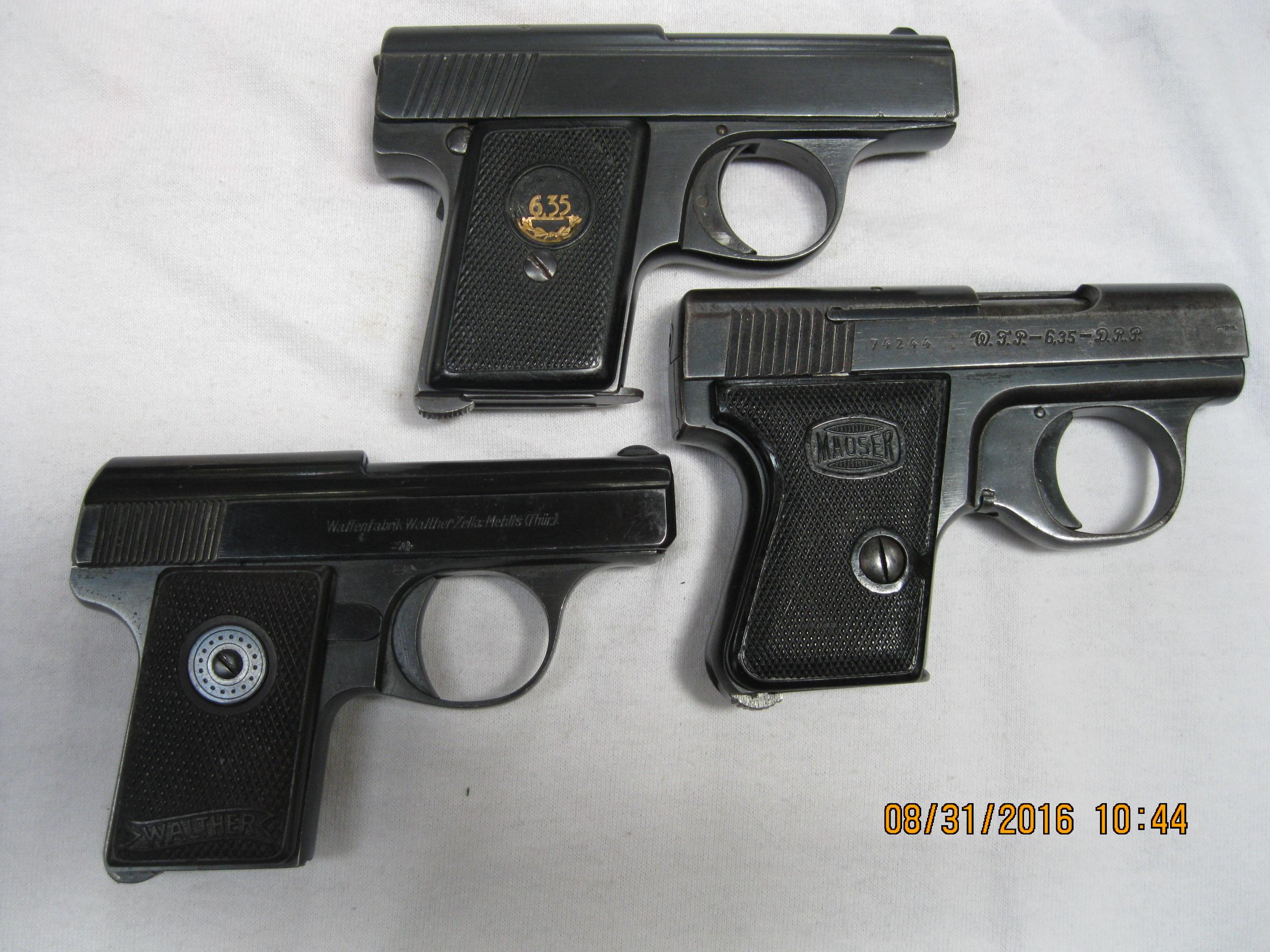 German pistols that penetrate vests