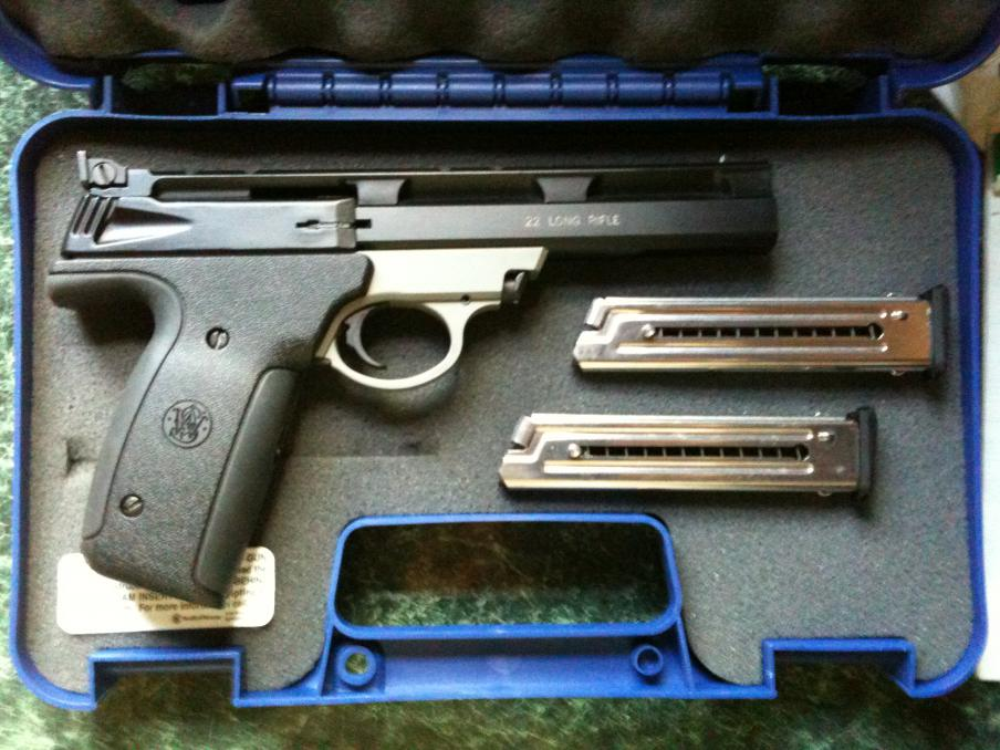 Curious about S&W Model 22A manufacture date