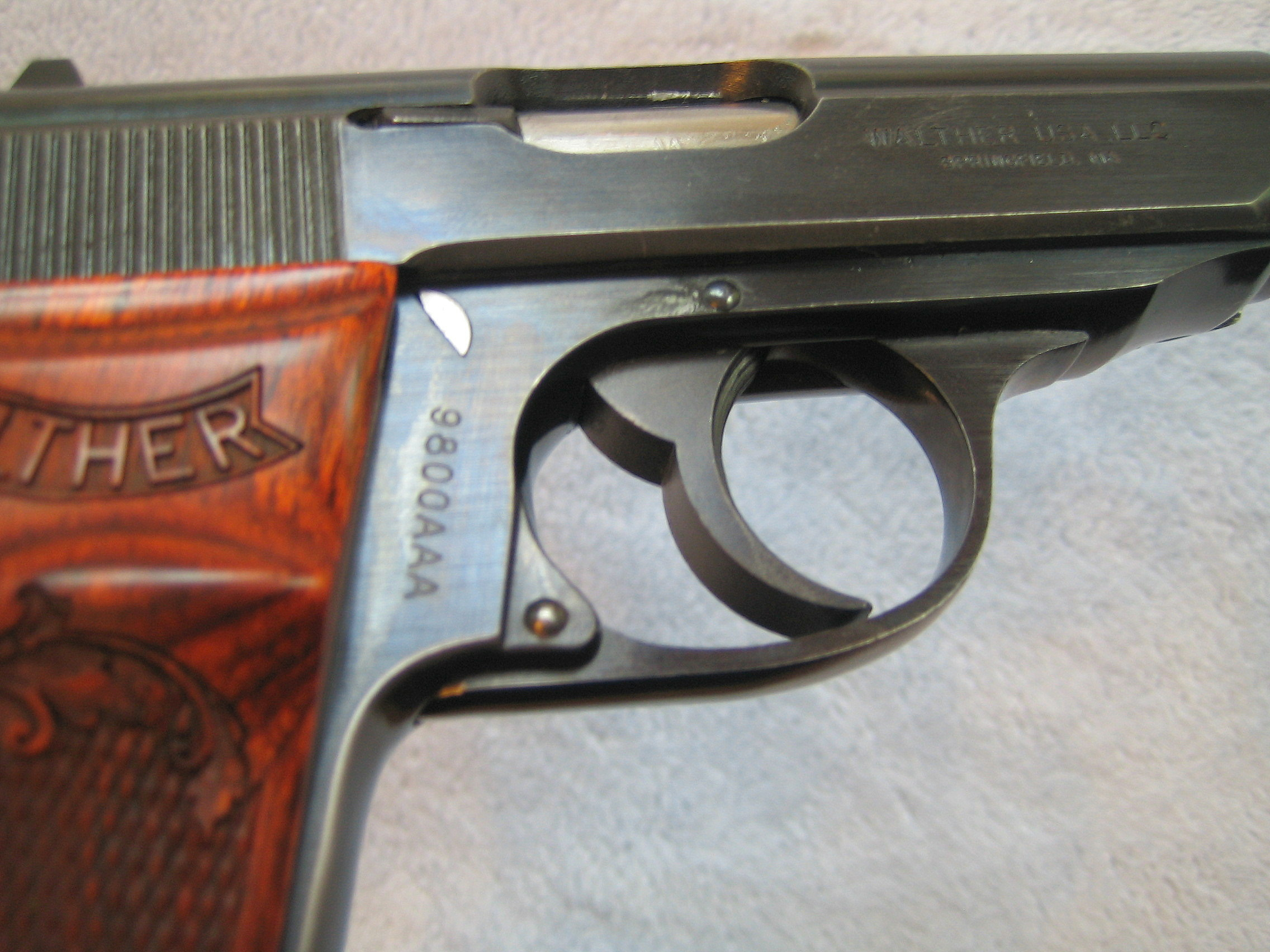 Walther Arms PPKS with WACKY Serial Number (?) Little Help?
