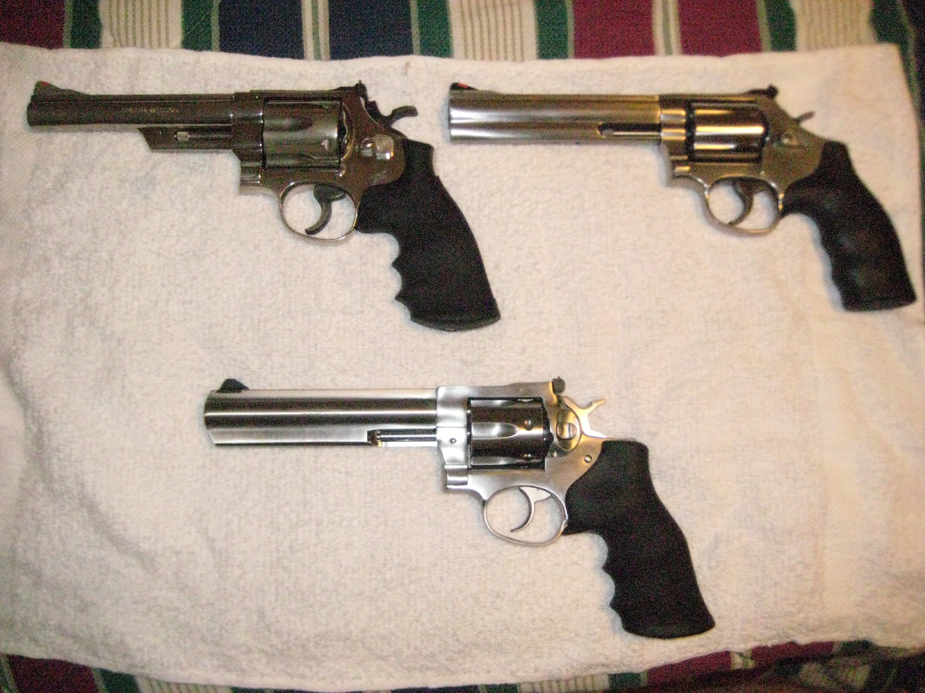 Finally a S&W 686-6 & a Ruger Gp-100