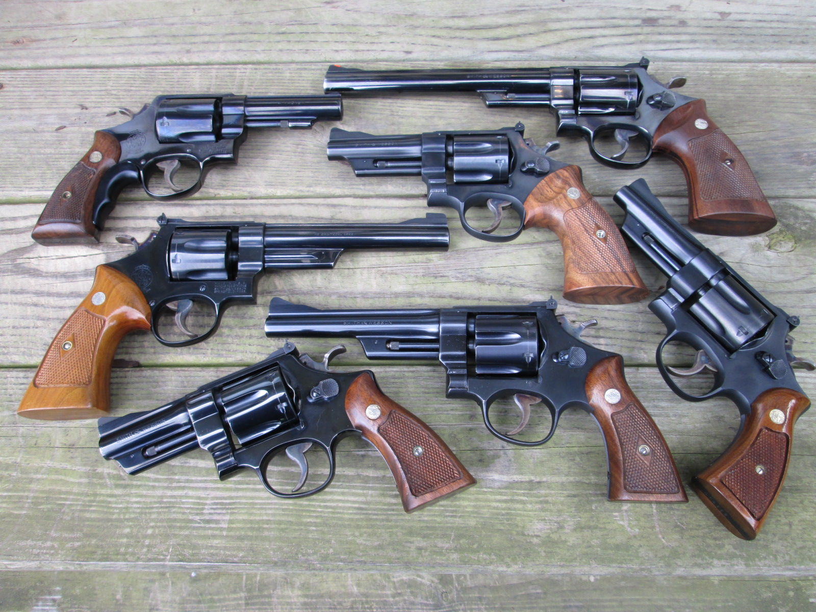 I am talkng S&W N-frame revolvers (or whatever else)