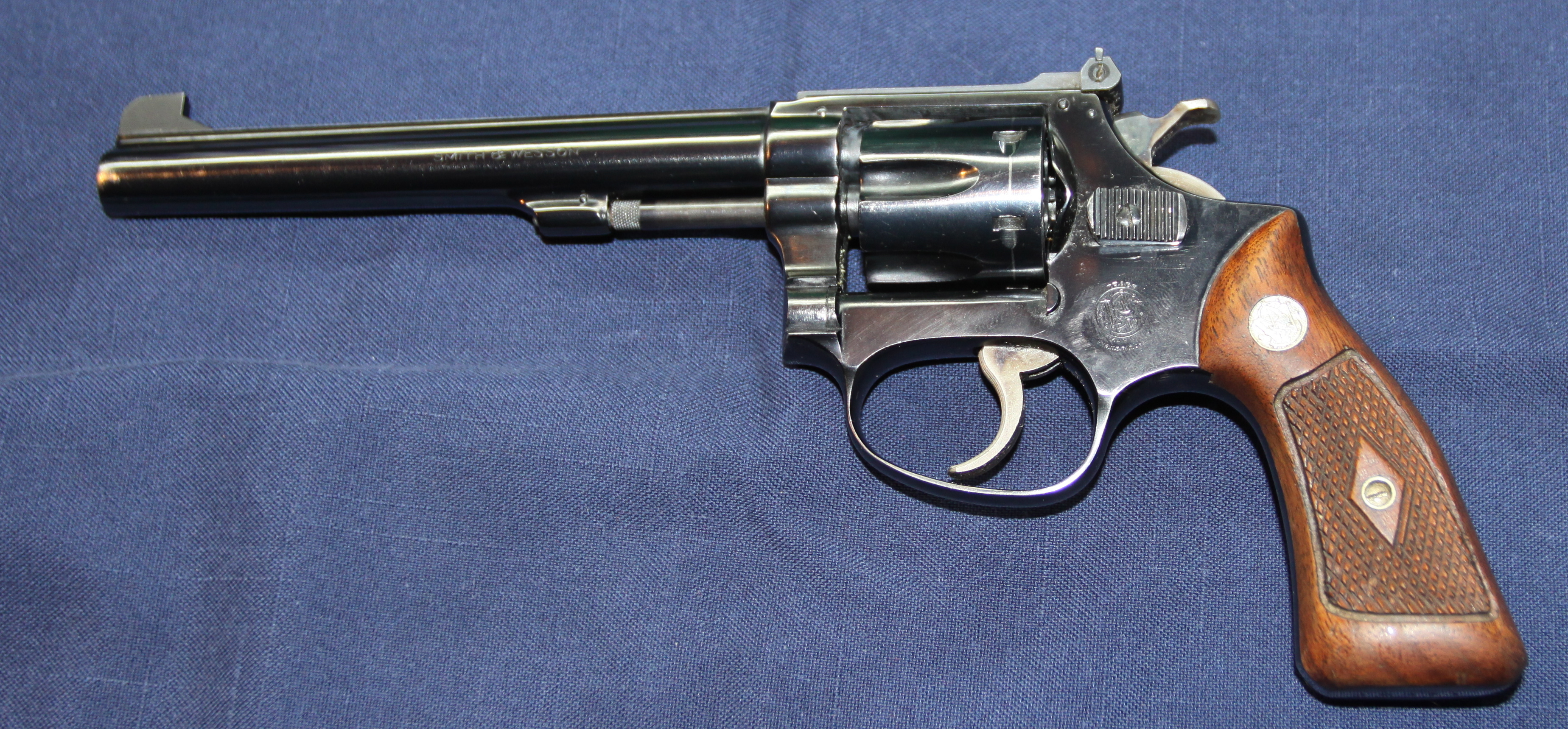 Need Help Identifying A S Amp W 17 22lr Ctg Revolver