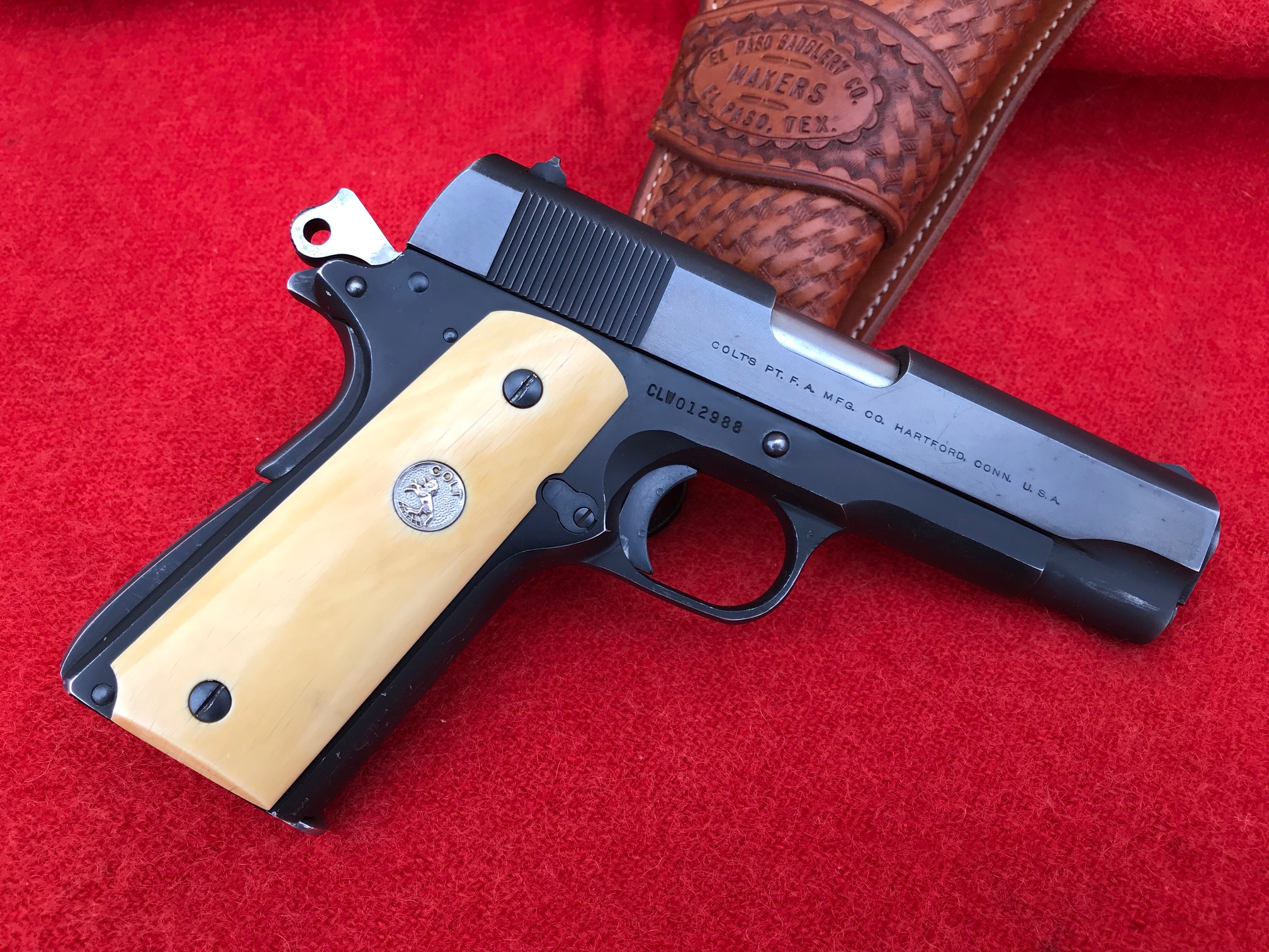 Colt Commander with Ivory