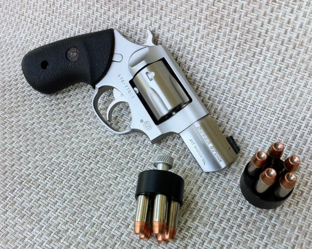 S&W or Ruger GP100