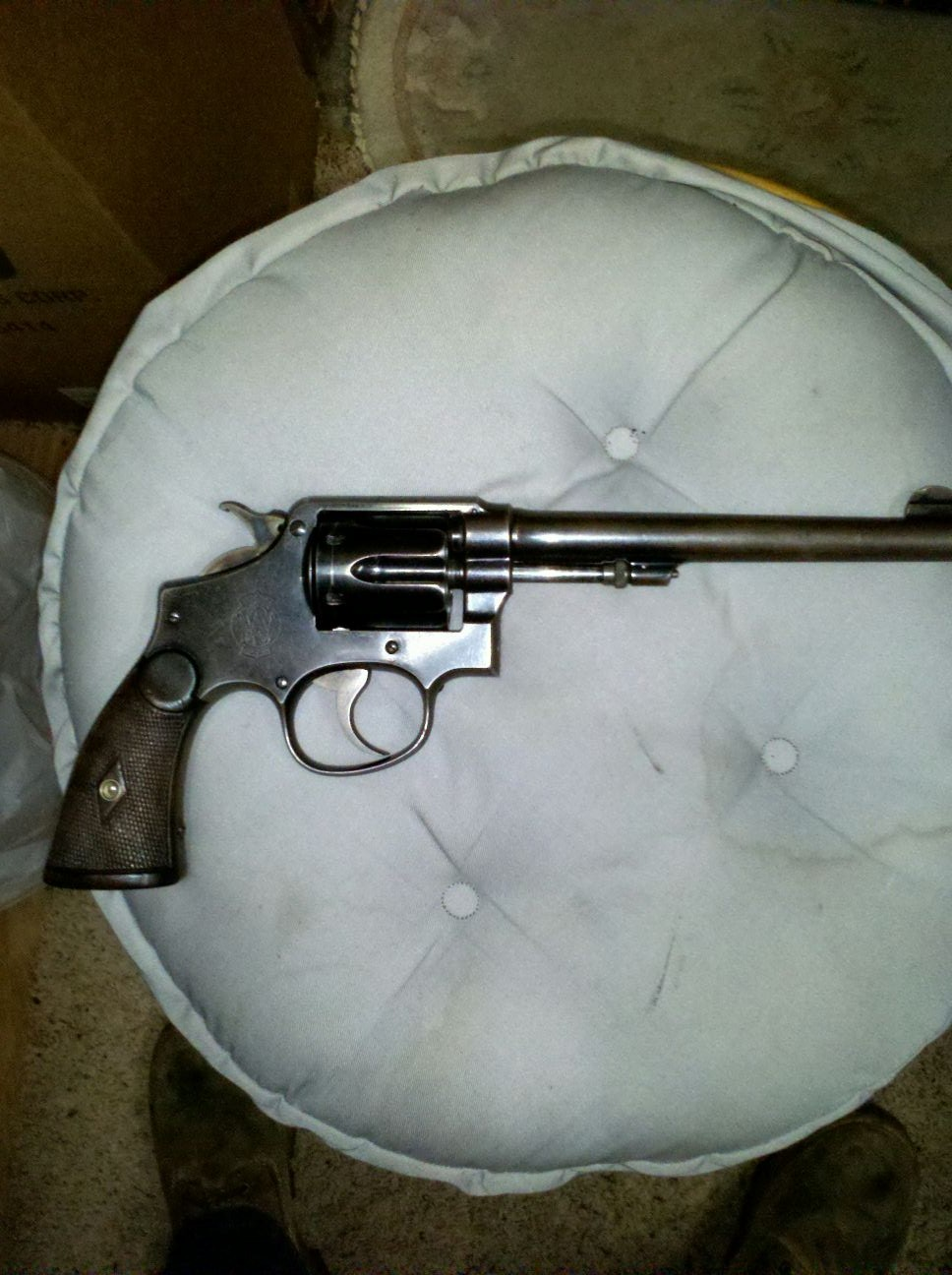 SMITH AND WESSON 38 SPECIAL CTG SERIAL NUMBER LOOKUP