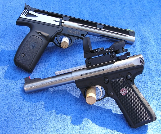 Name:  S&W 21A1, Ruger 22-45 -002.jpg Views: 55 Size:  431.6 KB