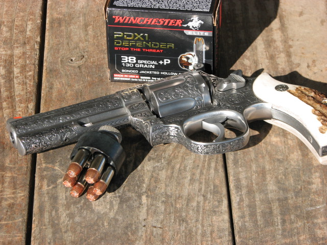 Current Low recoil  357 Magnum or 38+P (with close to  357