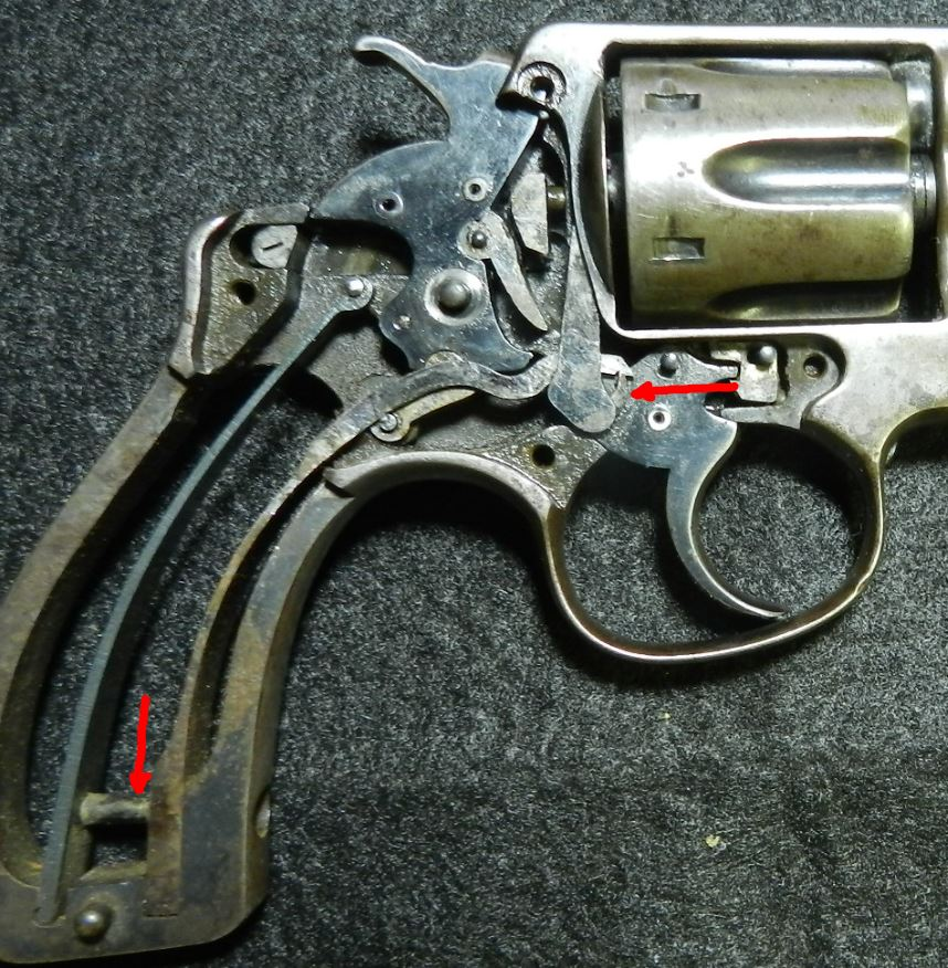 Smith And Wesson Early M Frame Where To Find Two Parts