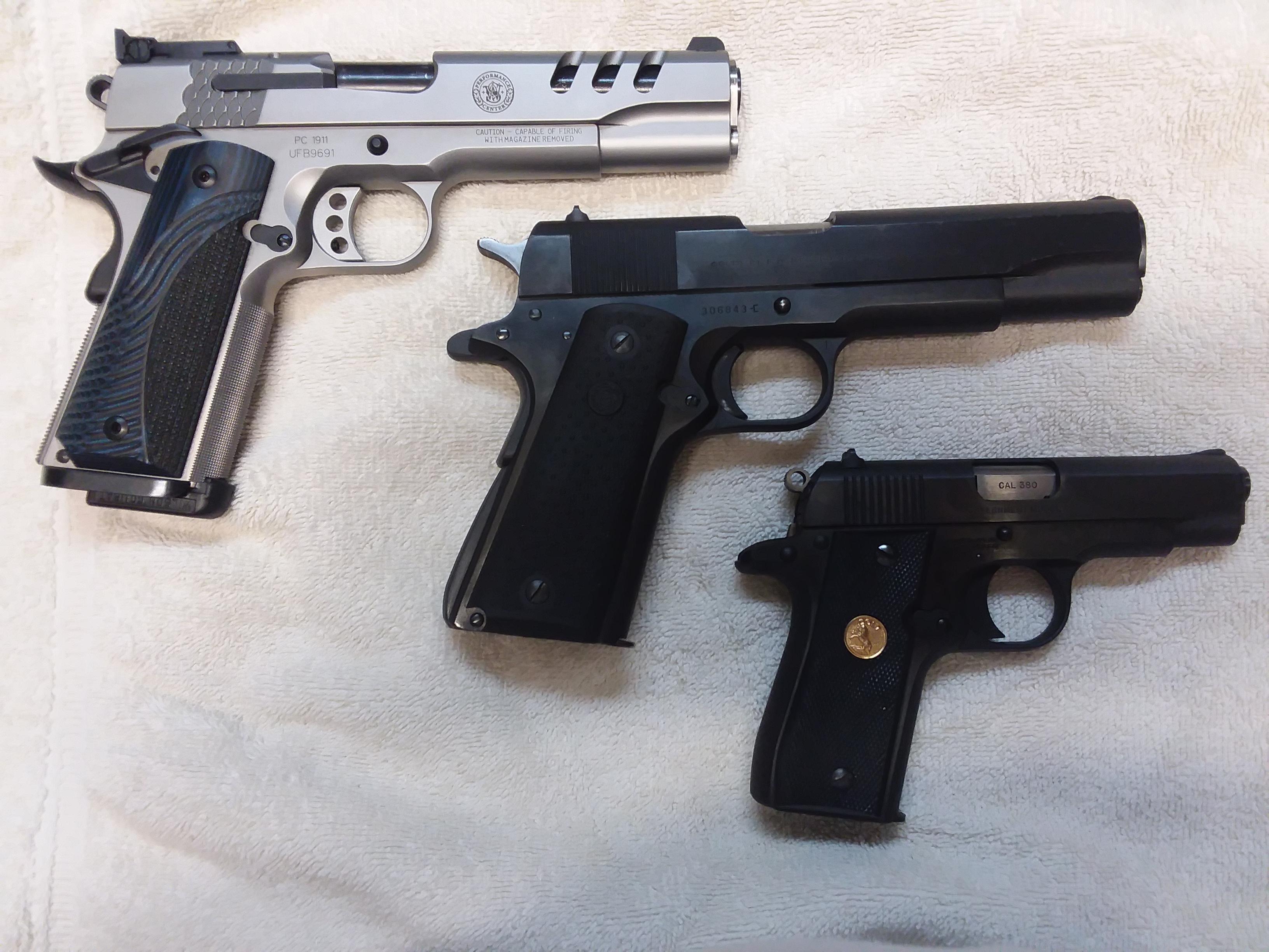 Name:  SW 1911 Colt Commercial 1911 Colt Gov MKIV.jpg Views: 7 Size:  2.48 MB